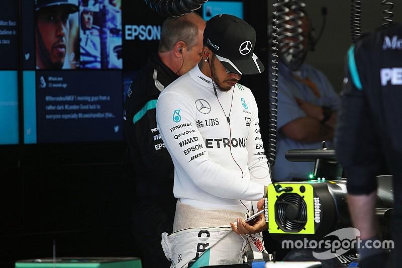 """Hamilton busca lo positivo después de lo """"horrible"""" del Gran Premio de China"""