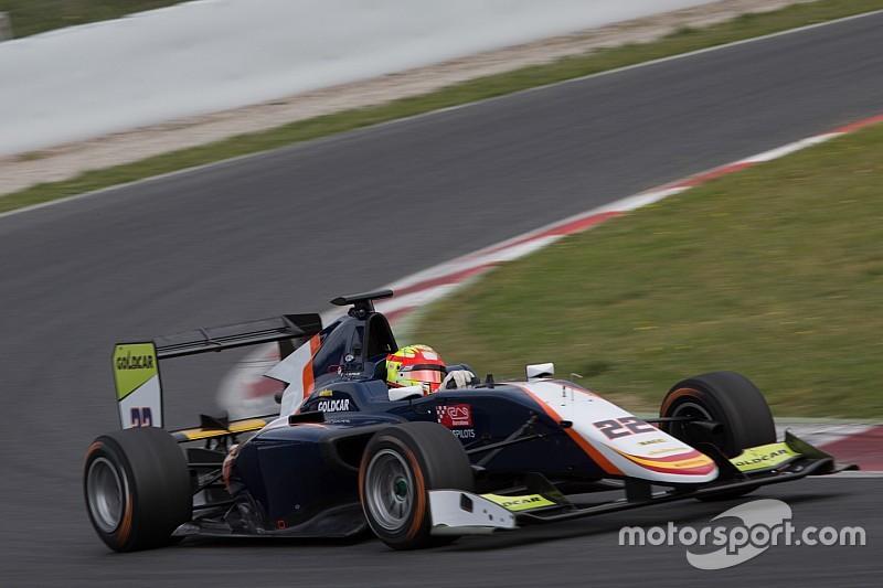 Jorg lidera el doblete de DAMS en el último día de pruebas de la GP3