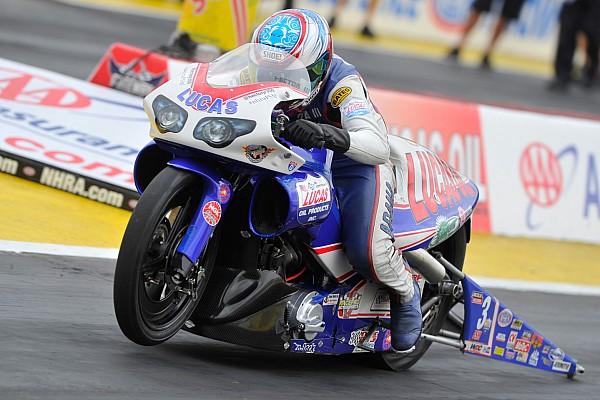 NHRA Pro Stock Motorcycle's Hector Arana JR. has no problem with motivation