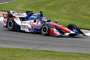 IndyCar Relato do treino livre Sato surpreende e é o mais rápido do dia em Barber