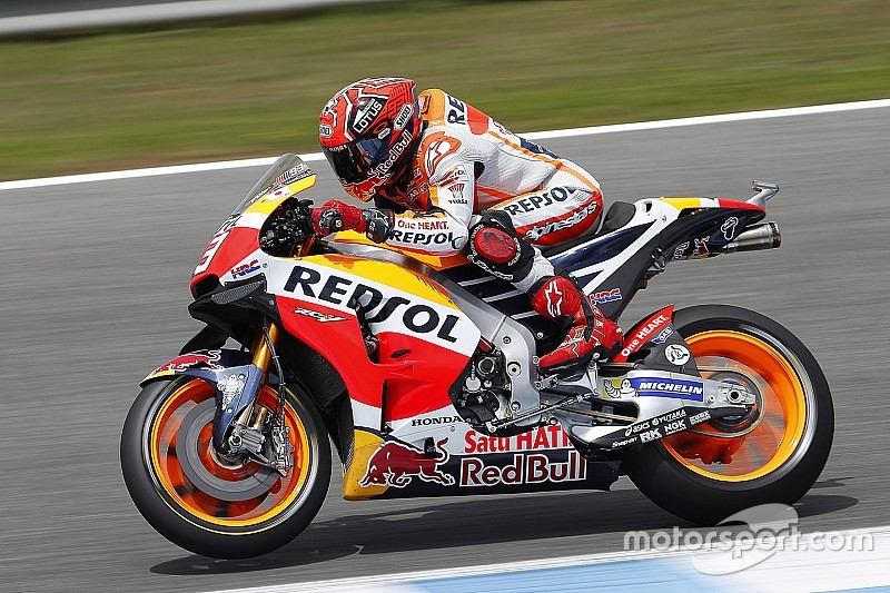 Jerez, Warm-Up: Marquez mette in fila le due Yamaha