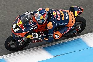 Moto3 Rennbericht Moto3 in Jerez: Brad Binder mit sensationellem ersten Sieg