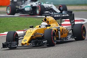 Formule 1 Actualités Renault en quête d'appui et de grip mécanique