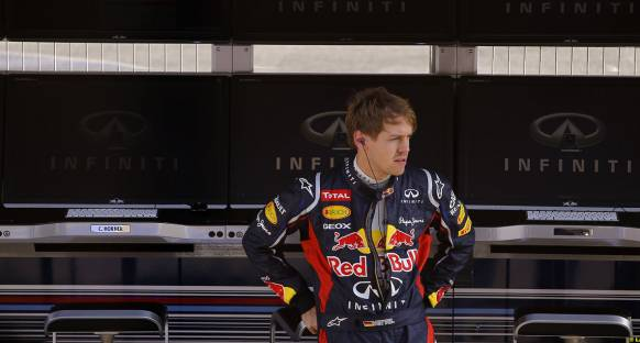Vettel Bahreyn'e gitmeye hazır