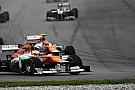 Force India pilotları puan almaktan mutlu