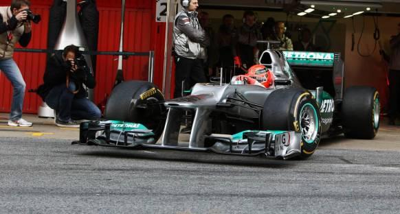 İlginç Detaylar - Mercedes W03