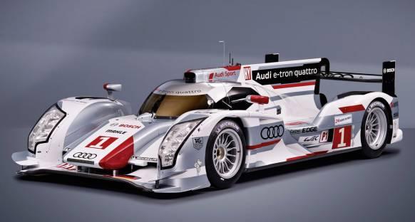 Audi hibrid R18 e-tron quattro'yu Münih'te tanıttı