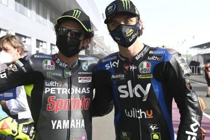 Valentino Rossi im Qualifying 17., während Halbbruder Luca Marini glänzt