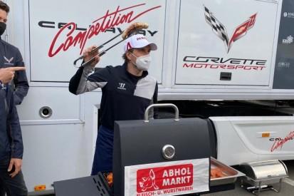 Markus Winkelhock entschuldigt sich mit Grillparty bei Callaway