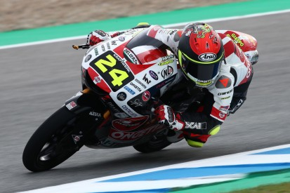 Moto3 in Assen FT2: Tatsuki Suzuki trotz Highsider Tagesschnellster