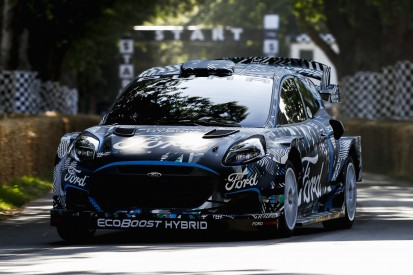 Rally1-Hybrid-Ära rückt näher: Ford Puma in Goodwood getestet