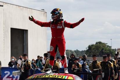 Ferrari erleichtert nach Sieg bei 24h Le Mans 2021: Enormer Druck von Corvette