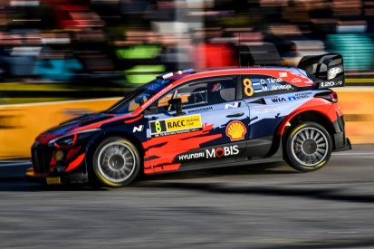WRC Rallye Spanien 2021: Tänak und Katsuta scheiden nach Unfällen aus