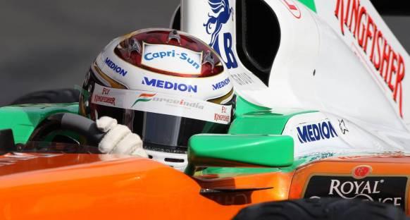 Sutil pilotlar şampiyonasında 9. olmak istiyor