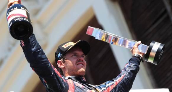 Vettel için kupa paradan daha önemli