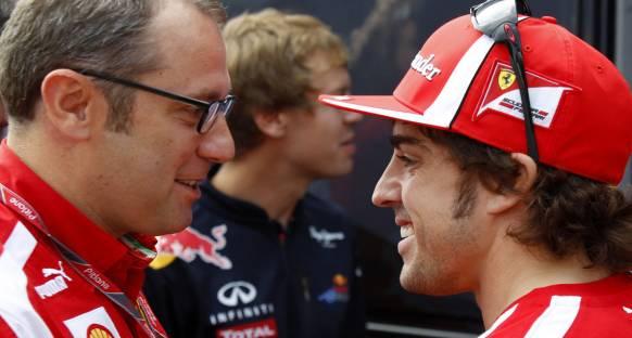 Domenicali: Fernando'dan olağanüstü bir sürüş
