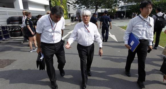 Hindistan Ecclestone'dan takdir aldı