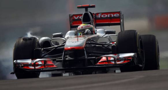 McLaren'in Hindistan'daki Yeni Ön Kanadı