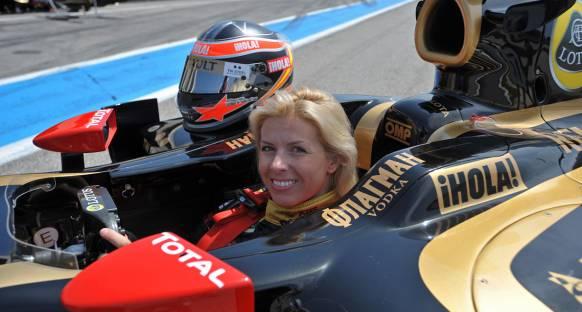 Bayan pilot Villota'nın hedefi F1'de yarışmak
