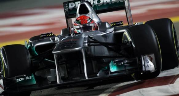 İlk seansdaki bölünmeler Schumacher'in canını sıktı