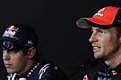 Button Vettel'in hızına anlam veremedi