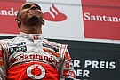 Hamilton McLaren'in gücünü Almanya'da ispatladı