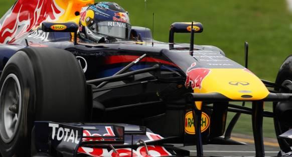 2011 Almanya Grand Prix 3. antrenmanlar - Vettel lider