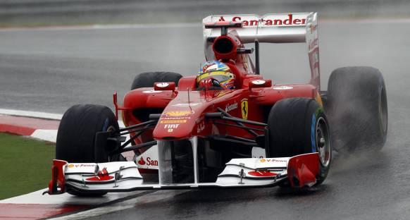 Türkiye Grand Prix Cuma 1. antrenman turları - Alonso lider