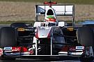 Perez memleketinde F1 gösterisi yaptı
