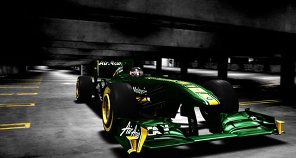 Team Lotus, T128'i gösterdi