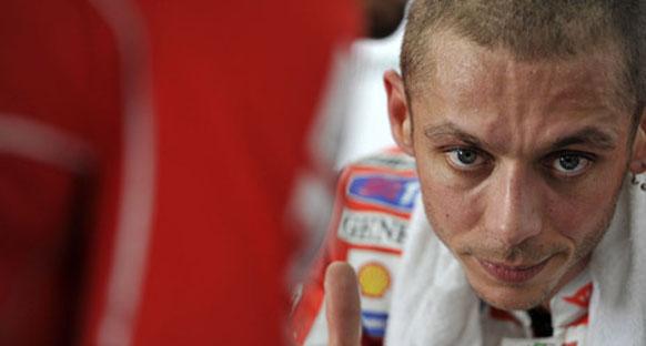 Rossi'nin omzu iyiye gidiyor