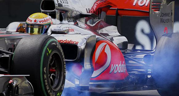 Hamilton: 'Kuru zeminde Red Bull'la asla'