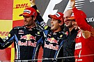 Red Bull Vettel-Webber'le üçüncü dublesini yaptı
