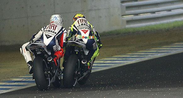 Lorenzo, Rossi'yi suçladı