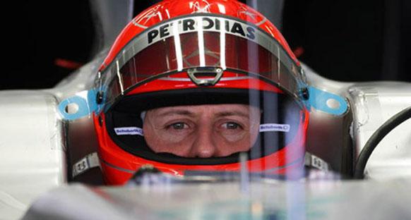 Schumacher: 'Araç ne lastiklerle ne pilotla uyum içinde'