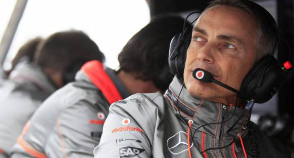 McLaren da üçüncü araçtan yana