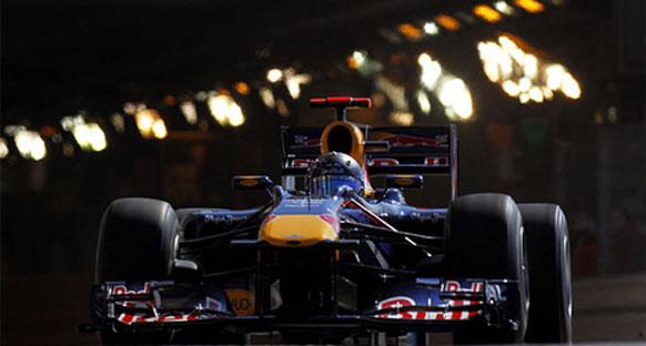 Vettel kazanamamasına rağmen puan almaktan dolayı mutlu