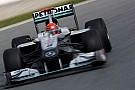 Schumacher yeni araçtan çok memnun