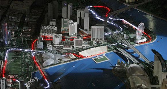 Singapur'da ek bir gece antremanı