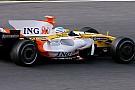 Alonso R28'deki gelişmeden mutlu