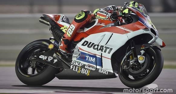 MotoGP Katar: İkinci antrenmanlarda Iannone lider