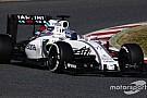 Williams 2016 burnunu Barselona'da kullanmayacak