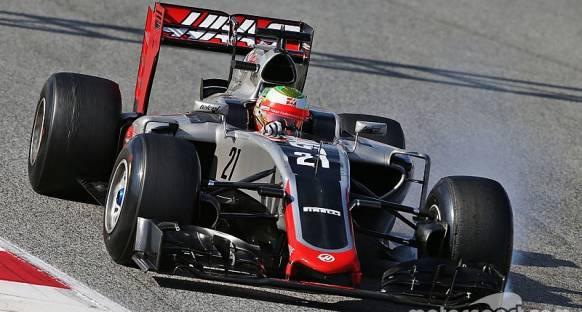 Haas turbo sorununun çözüldüğüne emin