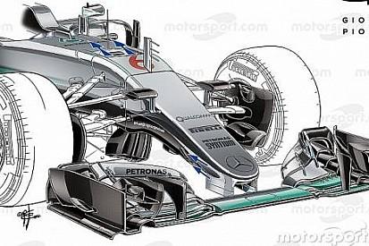 Teknik Analiz: Mercedes W07'nin sırları