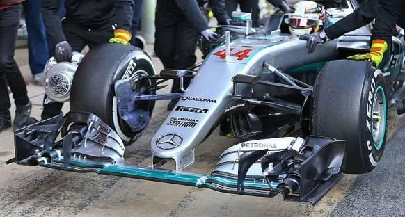 Mercedes yeni burun tasarımıyla yarışamayabilir