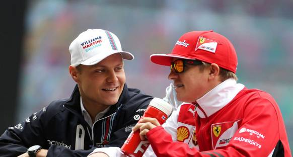 Valtteri Bottas 2016 'da Ferrari'de olacağı haberlerinden rahatsızdı