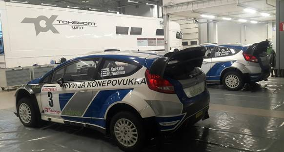 TOK Sport WRT Arctic Lapland Rally'sine katılıyor