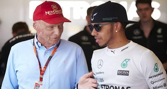 Hamilton: Kariyerimin başlarında Lauda beni desteklemiyordu