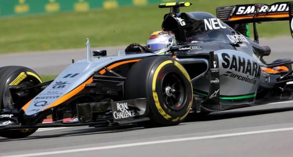 Sergio Perez: 'Force India dördüncülük için mücadele edebilir'