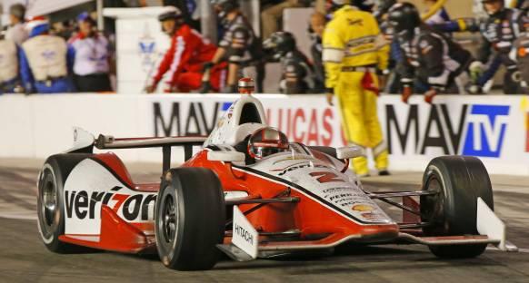 Juan Pablo Montoya Indy 500'u kazandı